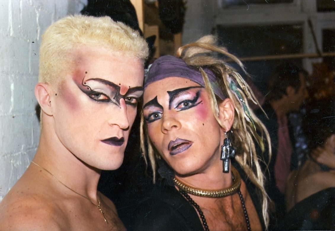 Simon Reptile and Chris de Bonaffin